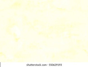 Subtle yellow watercolor background - seamless texture.
