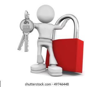 Such big keys in pocket do not fit.