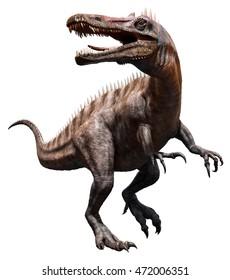 Suchomimus 3D illustration
