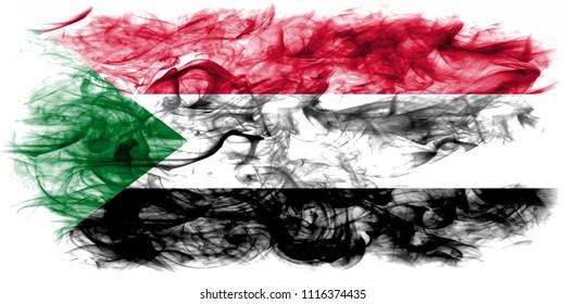 Sudan smoke flag