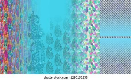 Suit Kurti Digital Design Motif Illustrator Colour Wallpaper Cute  Salwar