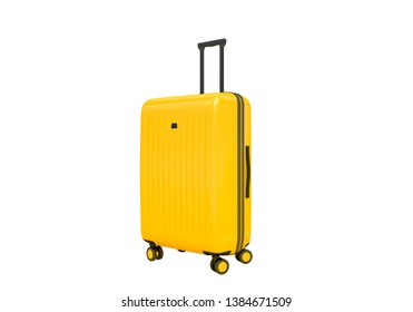Suitcase isolated on white background, 3d rendering