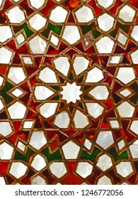 Sultan Palace Stained Glass Watercolor