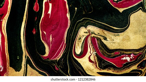 Suminagashi – the ancient art of Japanese marbling. Paper marbling is a method of aqueous surface design, which can produce patterns similar to smooth marble or other kinds of stone. Natural luxury.