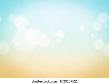 Summer background gradient. Abstract sun light