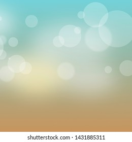 summer background holiday bokeh abstract design background
