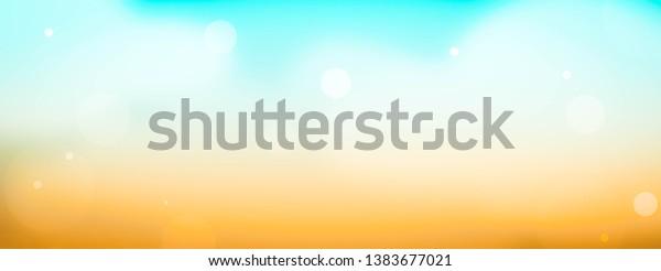 Summer background sky. Blue background