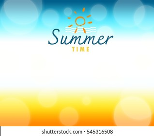 summer gradiant background