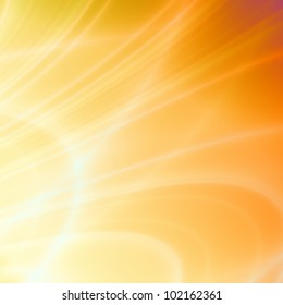 Summer orange abstract background