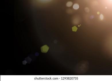 Sun Lens Flare Overlays, Rainbow overlays photoshop overlays