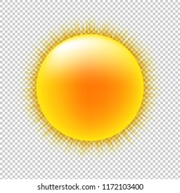 Sun With Transparent Background