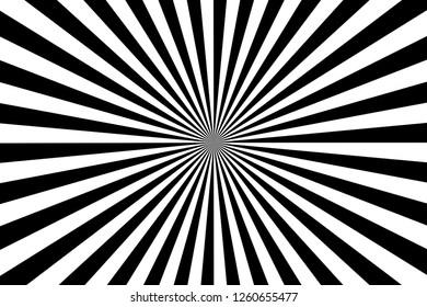 sunburst pattern background. illustration