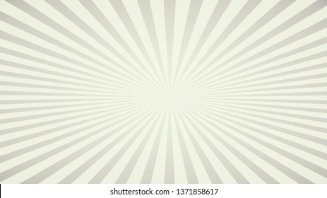 Sunlight Abstract ray burst pastel gradient color background. Comic graphic with radial stripe pattern