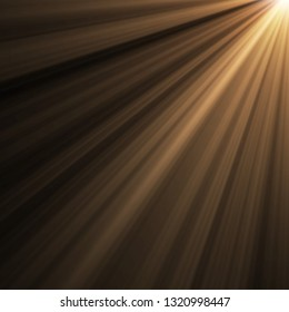 sunlight overlays abstract backdrop