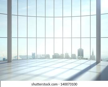 sunlight room and big window