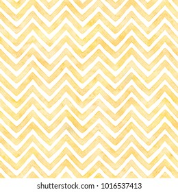 Sunny yellow painted zigzag pattern