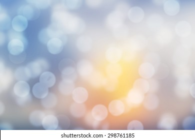Sunshine Lens blur background