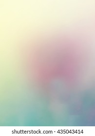 Supernal turquoise emulsion flows in cannon pink haze heavenly background