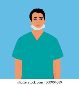 surgeon, doctor, nurse
