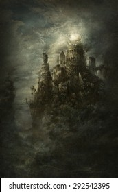 Surreal castle