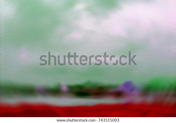Surrealism Blurry Dream Conceptual Abstract Illustration