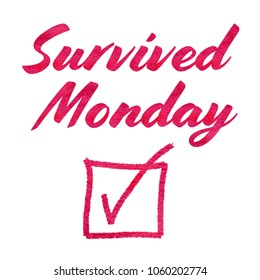 I Survived Monday