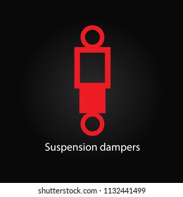 Suspension dampers sign