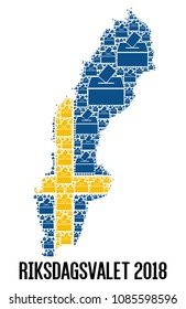 Swedish general election, 2018