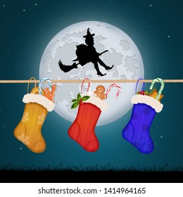 sweets in the socks of Epiphany