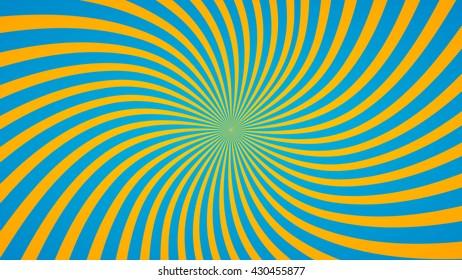 Swirling radial background. Vortex background. Helix background.