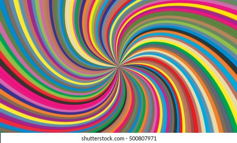 Swirling radial background. Vortex background. Helix background.
