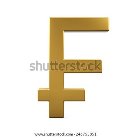 Swiss Franc Symbol Stock Illustration 246755851 Shutterstock