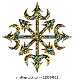 Symbol of Chaos / Chaos Star - Chaos Cross /  Symbol of Eight, Arms of Chaos,