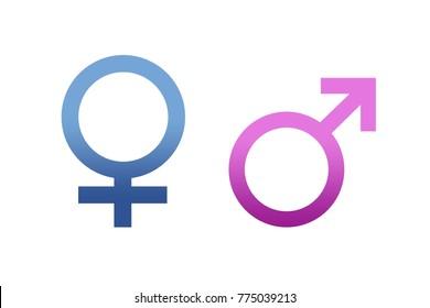 Symbols of gender equality.