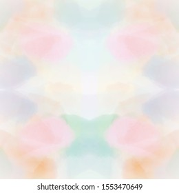 symmetry colorful messy style, graphic illustration abstract painting, symmetry shapes graphic design