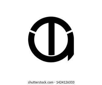 ta original monogram logo design