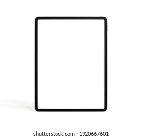 Tablet isolated on white background. 3d illustration.
