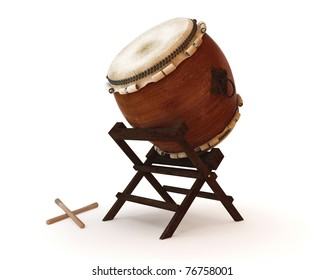 Taiko drums are traditional Japanese drums
