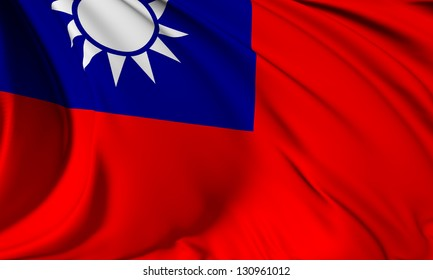 Taiwan flag HI-RES collection