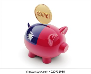 Taiwan High Resolution Growth Concept High Resolution Piggy Concept