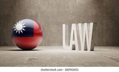 Taiwan High Resolution Law Concept