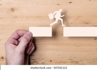 Take the next steps. Business development concept