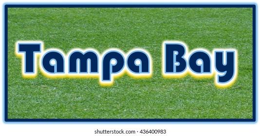 Tampa Bay Word Clip Art