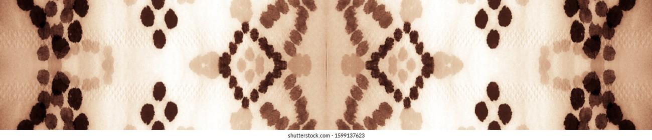 Tan Watercolor. Modern Background Repeat. Tie Dye Style. Orange Ethnic Pattern. Seamless Pattern Of Tiles. Orange Ceramic Tiles. Stylish Ceramic Tile. - Shutterstock ID 1599137623