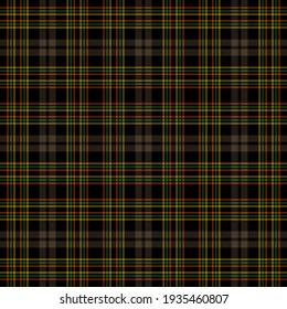 Tartan checkered british fabric seamless pattern
