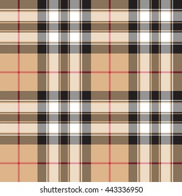 tartan fabric texture background seamless pattern