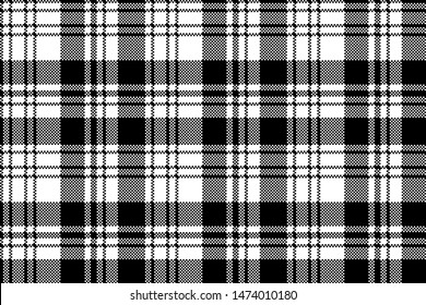 Tartan scotland seamless plaid pattern. Retro background fabric. Vintage check color square geometric texture for textile print, wrapping paper, gift card, wallpaper flat design.