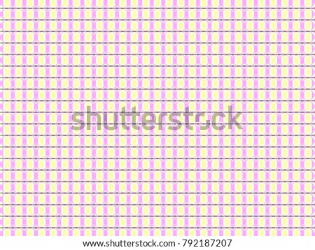 tartan traditional checkered colorful pattern tablecloth stock