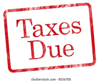 Taxes Due message.