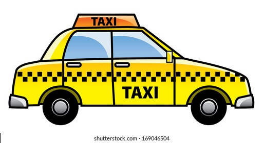 Cars On Line >> Taxi Cartoon Images, Stock Photos & Vectors | Shutterstock